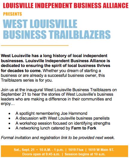 Louisville Independent Business Alliance - West Louisville
